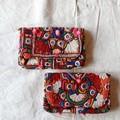 バンジャラミラーワーク刺繍 ポンポンクラッチ 全2種