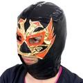 【パーティー イベント】ブラックマスク  メキシカンレスラーマスク コスチューム 格闘技