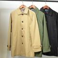 【SALE セール】 メンズ ツイル ステンカラー コート / ショップコート チェスター ロング丈 ジャケット 冬