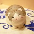 【2016秋冬新作】ちぎり和紙 にっこり丸猫