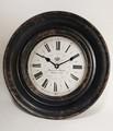 掛時計・ブラック
