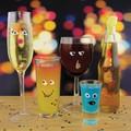 パーティーで自分のグラスをドレスアップ Party PPL Drink Makers