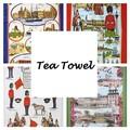 ◆英アソート対象商品◆【英国雑貨】英国デザインキッチンタオル (2)