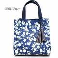 タッセル付 花柄ハンドバッグ【デゴ2】
