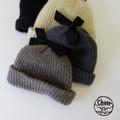 【SALE】【秋冬新作】[ニット帽]シュエット リボン CAP