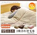 毛布 洗える 寝具 無地 旭化成センイ トップサーモ 『フランアイズ IT』