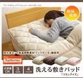 敷きパッド 寝具 洗える 旭化成センイ トップサーモ 『フランアイズ IT』