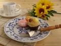 【エルベ】ケーキ皿セット/19.5x2.5cm/MADE IN JAPAN