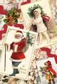 【新商品】Rakka ヴィクトリアン クリスマス ポストカード RVX01