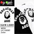 ◇2016秋冬新作◇Big Apple ビッグアップル メンズ キャラT 長袖Tシャツ ロンT<IS><2カラー>