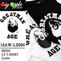 ◆お買い得春夏商材◆★大特価★Big Apple ビッグアップル キャラT 長袖Tシャツ ロンT<MM>
