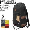《即納》PATAGONIA《2016秋冬新作》■バックパック■IRONWOOD PACK 20L■パタゴニア