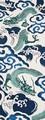 【日本製】 注染 手ぬぐい 雲海に龍【和布華】【正月】