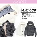 【激安!】ALCOTT アルコット レディース モコモコ クマ耳フード ニットアウター<ラスト2点>
