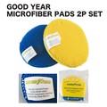 【海外 輸入】GOOD YEAR マイクロファイバーパッド 2Pセット アメリカ雑貨