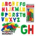 【キッズ 雑貨】アルファベット マグネット カラフル 輸入 玩具 おもちゃ インテリア