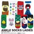 【新作 20柄】【ソックス 靴下】アンクルソックス レディース アメ雑 靴下 アメカジ
