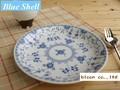 【ブルーシェル】9吋パスタ皿セット/23.5x3cm/MADE IN JAPAN