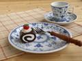 【ブルーシェル】ケーキ皿セット/19.5x2.5cm/MADE IN JAPAN