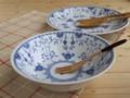 【ブルーシェル】スープ&ボウルセット/16.5x5cm/MADE IN JAPAN