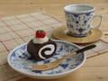 【ブルーシェル】フルーツ皿セット/14x2.5cm/MADE IN JAPAN