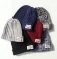【お買い得】リブアクリルワッチキャップ 帽子