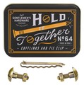 『Cufflink & Tie Pin Set』(カフリンク&タイピン セット) 「hold together!」