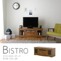 【送料無料】Bistro(ビストロ)テレビ台 ローボード(120cm幅)LBR