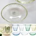 【レトロかわいい♪日本製の手作りガラス フェリーラ】タンブラー&小鉢ボール