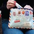 アメリカBlueQ社のリサイクルバッグシリーズ 小物の収納に「ジッパーポーチ」