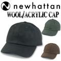 NEWHATTAN WOOL/ACRYLIC CAP  15163