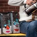 アメリカBlueQ社のリサイクルバッグシリーズ たっぷり収納「ショルダートート」