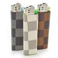 チェック ライター プレゼント 喫煙 煙草 タバコ たばこ 格子柄 ブロック メンズ
