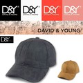 D&Y Perforated faux suede cap  15192