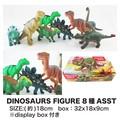 ダイナソー フィギュア 8種アソート 玩具 おもちゃ インテリア 輸入 人形 ユニーク 恐竜