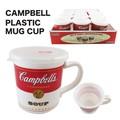 キャンベル プラスチック マグカップ アメ雑 アメリカン雑貨 スープ