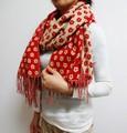 [秋冬衣料]アクリル素材の大判ストール☆リバーシブルで使えます!<全3色>