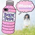 <おもしろケースシリーズ!>ペットボトル型?! iPhone7専用BoysTears(男の子のなみだ)ケース