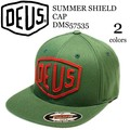 《即納》DEUS EX MACHINA《秋冬》■キャップ■DMS57535■SUMMER SHIELD CAP■デウス
