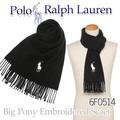 POLO RALPH LAUREN ポロ ラルフローレン  マフラー Big Pony Embroidered Scaef 6F0514