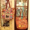 バンジャラ刺繍 トートバッグ 全2種