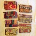 バンジャラミラーワーク刺繍 クラッチバッグ 全7種