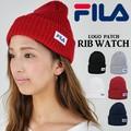 FILA フィラ ニットキャップ 帽子 ニット帽 ワッチキャップ 正規ライセンス品