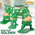 【アントレックス】卵が兵士のお腹に変身!?【エッグカップソルジャー】