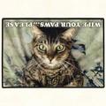 【アメリカ製】猫のドアマット