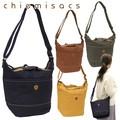 【chiemisacs】カラーデニムショルダー