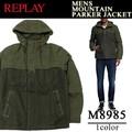◆お買い得秋冬商材◆★大特価★REPLAY リプレイ メンズ マウンテンパーカー風 中綿ジャケット