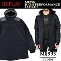 ◆お買い得秋冬商材◆★大特価★REPLAY リプレイ メンズ ハイパフォーマンス 中綿ジャケット