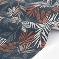 【生地】【布】【コットン】Brown leaf キャンバス生地 デザインファブリック