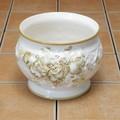 ヨーロッパ ポルトガル製 植木鉢 陶器 グリーン ローズ バラ  ガーデニング プランター 直植